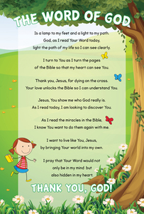 products how to read the bible poster bookmark