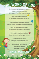 How to Read the Bible Poster & Bookmark by Seth Dahl