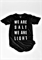 We Are Salt Short Sleeve Shirt Tail T-Shirt by