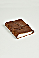 Handmade Leather Journal by Cageless Birds