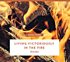 Living Victoriously in the Fire by Chris Gore