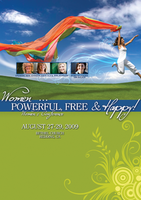 Women: Powerful, Free & Happy - August 2009 by