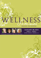 Wellness Seminar January 2011 Complete Set by Beni Johnson and Ronda Nelson
