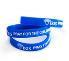 Pray for the Children Silicone Wristband by
