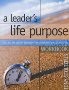 A Leader's Life Purpose by Tony Stoltzfus