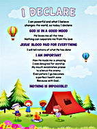 Bethel Kids Declaration Poster by Seth Dahl