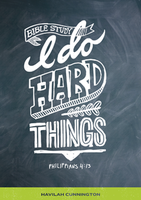 I Do Hard Things by Havilah Cunnington
