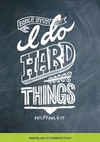 I Do Hard Things by Havilah Cunnington