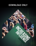 Increasing In Influence by Jason Hedge